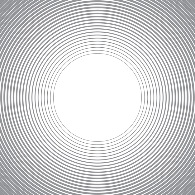 Abstract background with circles lines. Premium Vector