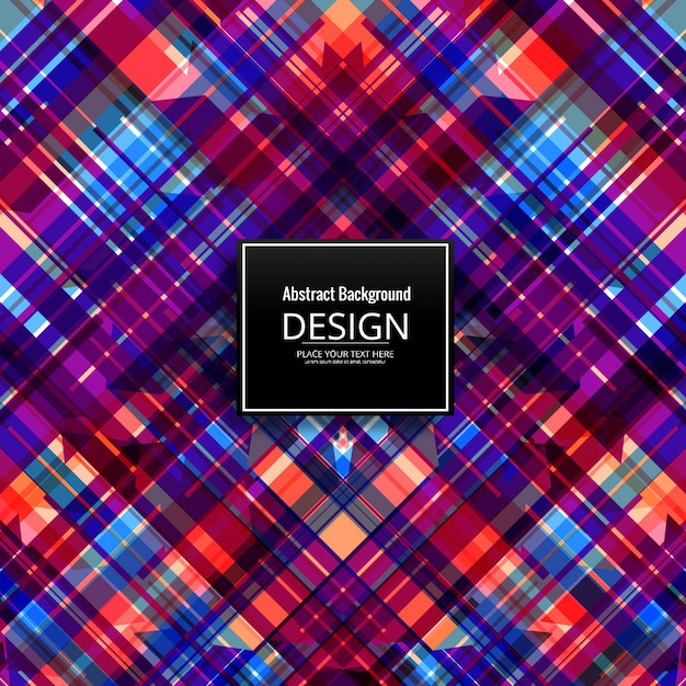 Abstract background with colorful crossed lines