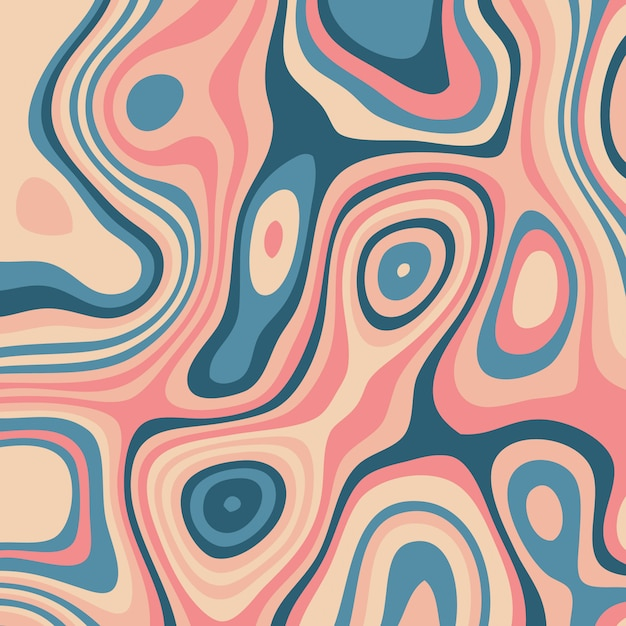 Abstract background with colourful topography design Free Vector