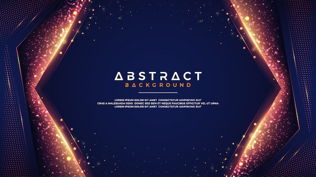 Abstract background with combination of blur bokeh effects. Premium Vector