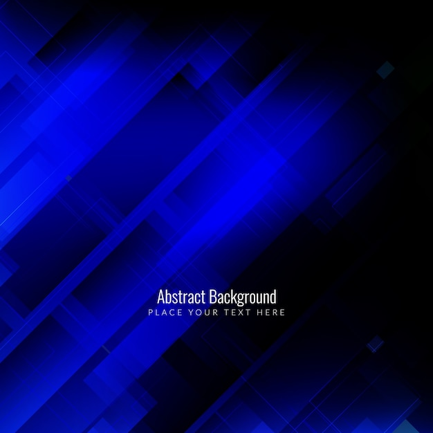 Abstract background with dark blue geometric shapes Vector ... - photo #11