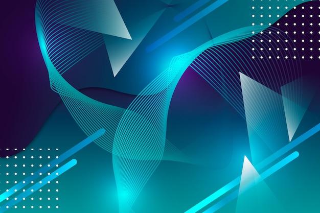 Абстрактный фон с точками Бесплатные векторы
