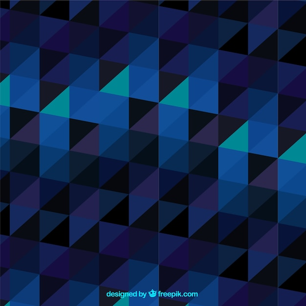 Abstract background with elegant triangles