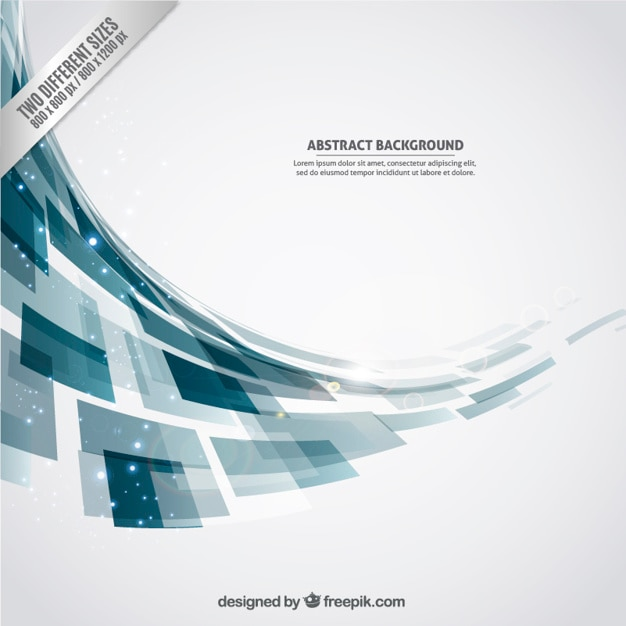 Abstract background with geometric\ shapes