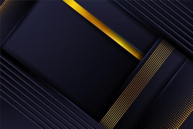 黄金の詳細と抽象的な背景 Premiumベクター