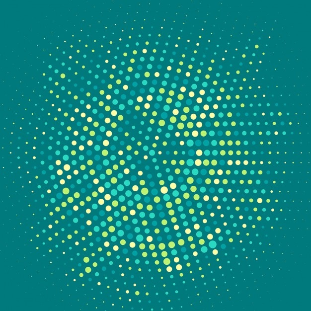 Abstract background with halftone dots Vector | Free Download