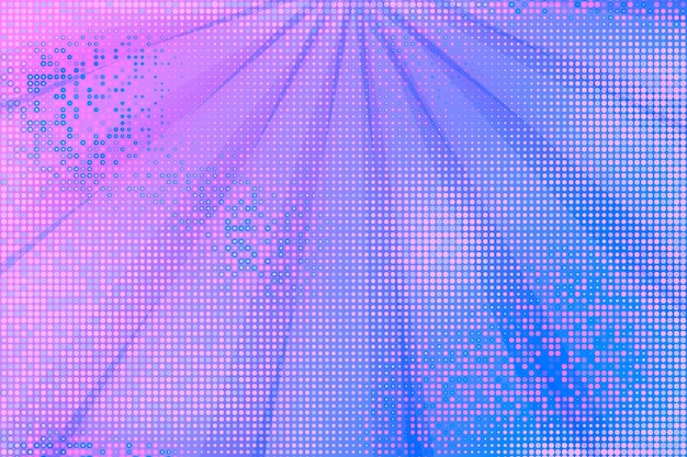 Abstract background with halftone effect Free Vector