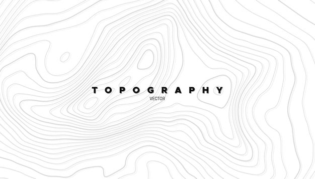 Abstract background with linear topography relief