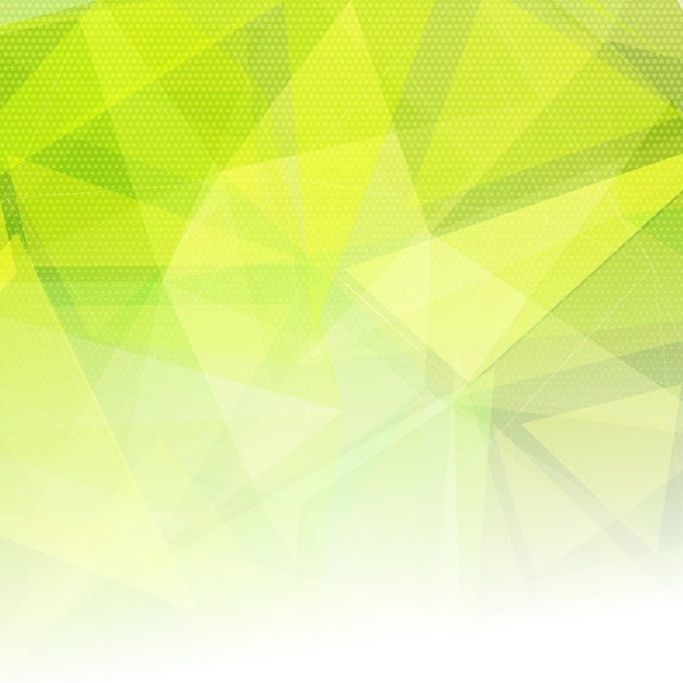 Abstract background with low poly design