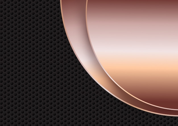 Abstract background with metallic textures Free Vector
