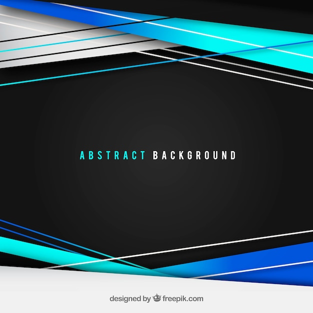 Abstract background with modern lines