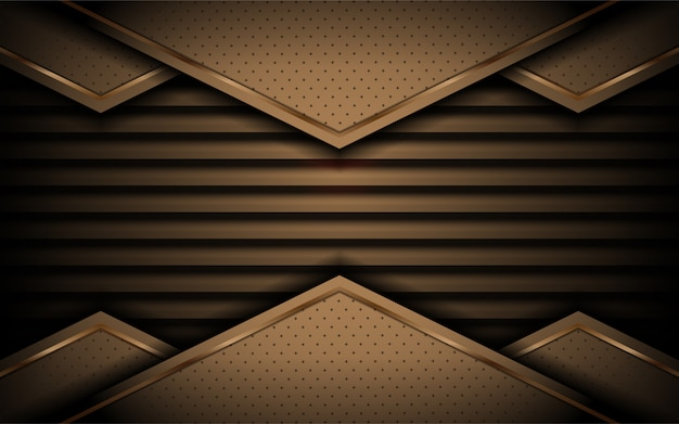 Abstract background with modern shape Premium Vector