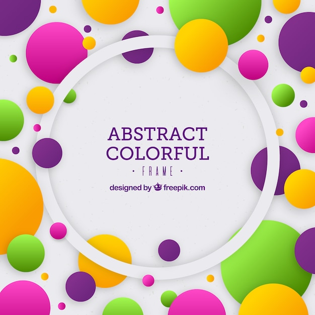 Abstract background with neon style Free Vector