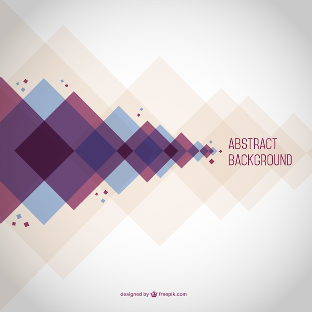 Abstract background with rhombus Free Vector