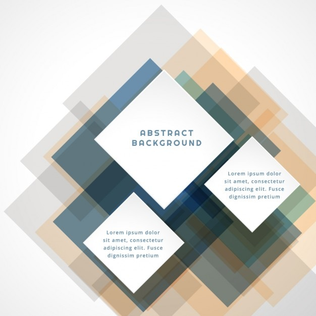 Abstract Background With Translucent Square Vector Free Download