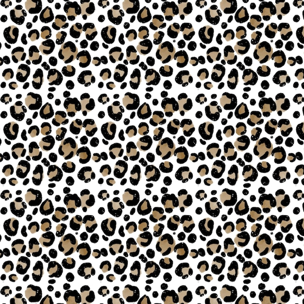 Abstract background with watercolour animal print pattern Free Vector