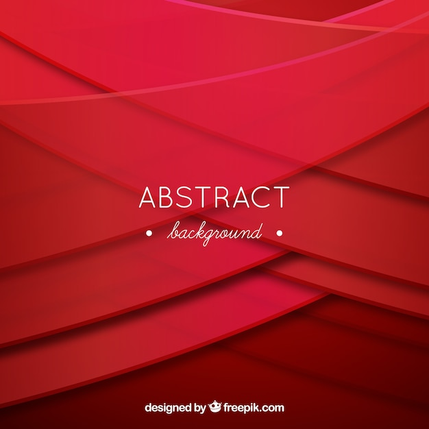 Abstract background with wavy forms