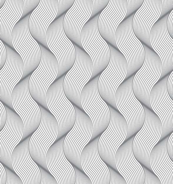 Abstract background with a wavy pattern Free Vector