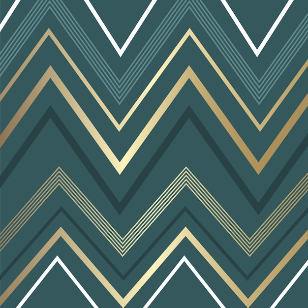 Abstract background with zig zag pattern Free Vector