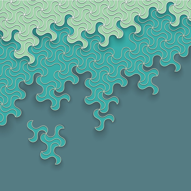 Abstract background Premium Vector