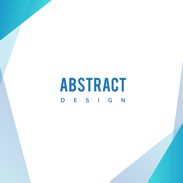 Abstract banner illustration Free Vector