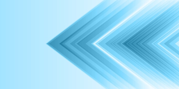 Abstract banner with modern style Free Vector