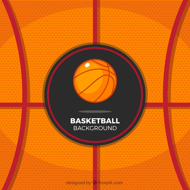 Abstract basketball background Vector | Free Download