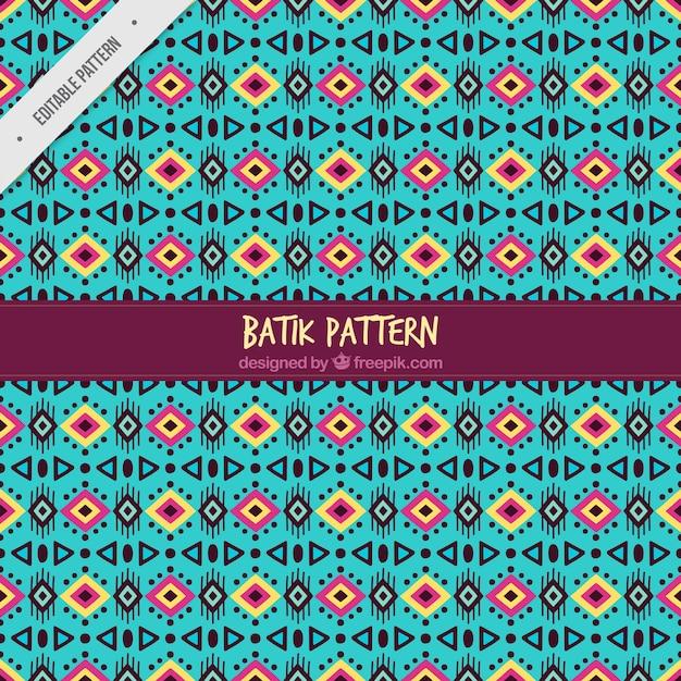 Abstract Batik Pattern Vector