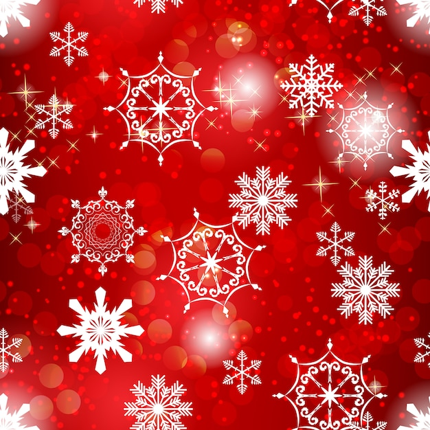 Abstract beauty christmas and new year with snow and snowflakes. Premium Vector