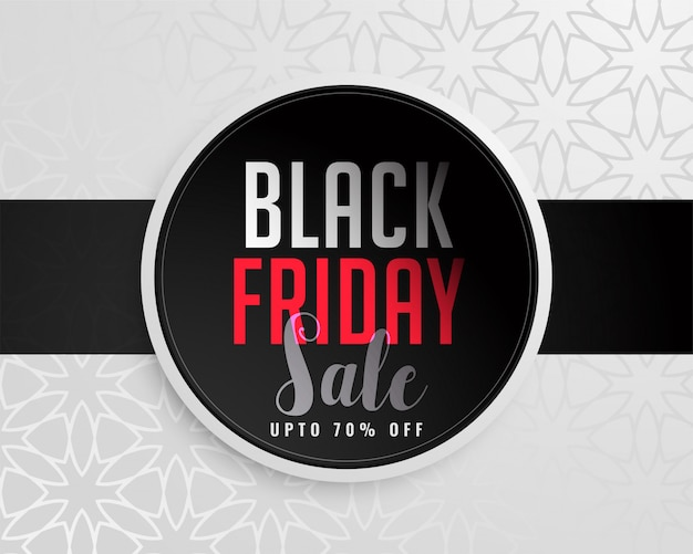 Abstract black friday sale background Free Vector