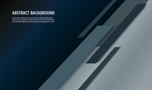 Abstract black line background Premium Vector