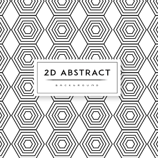 Abstract black and white background Free Vector