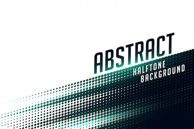 Abstract black and white speed fast pattern halftone background Free Vector