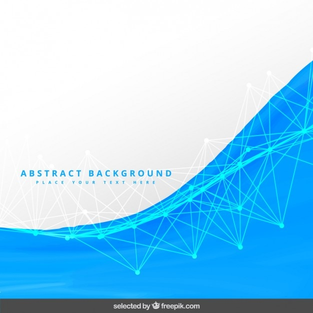 Abstract blue and white background Vector | Free Download