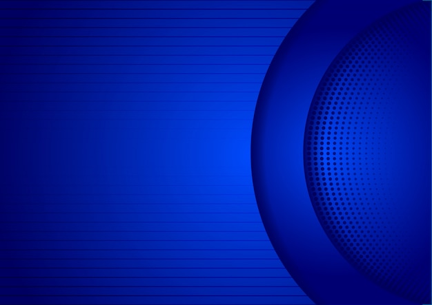 Abstract blue backgorund design technology shadow Premium Vector