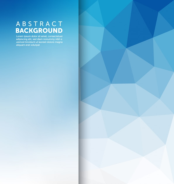abstract blue background template vector free download