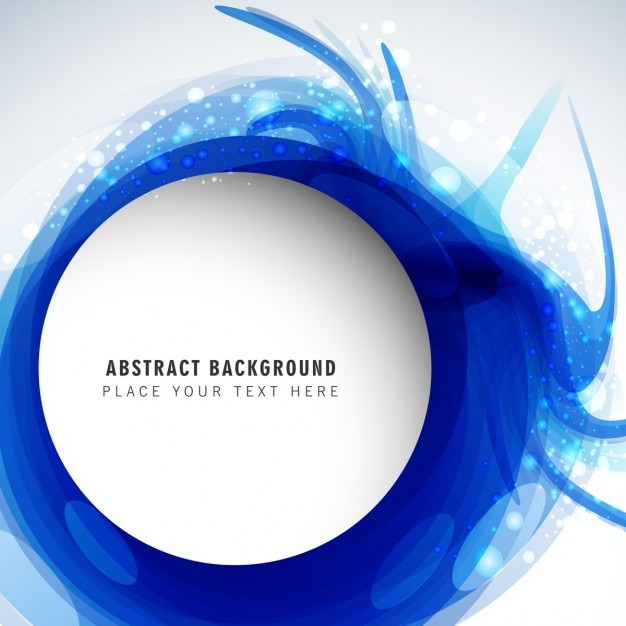 Abstract blue background Vector | Free Download