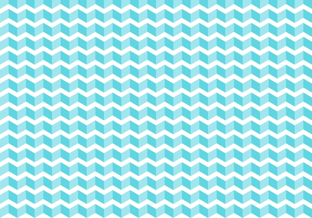 Abstract blue chevron tiles pattern background Premium Vector