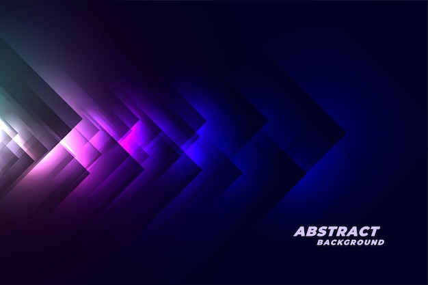 Abstract blue dark tech style background Free Vector