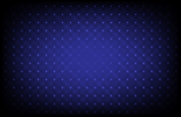 Abstract blue futuristic background with connection dots and line Premium Vector