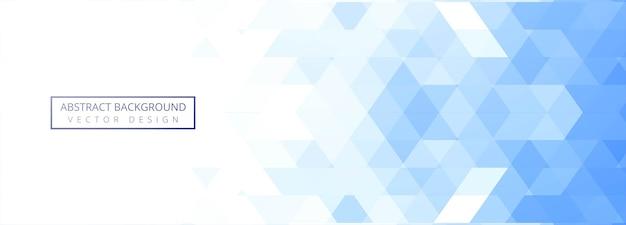 Абстрактный синий геометрический Бесплатные векторы