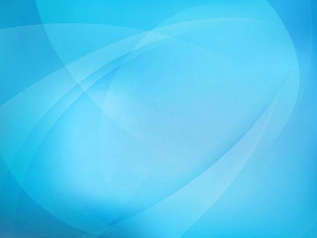 抽象的な青い光の背景。 Premiumベクター