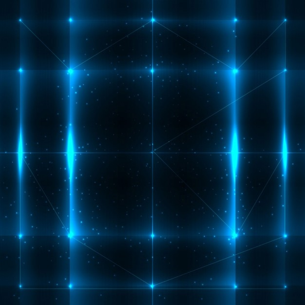 abstract blue lights background vector free download