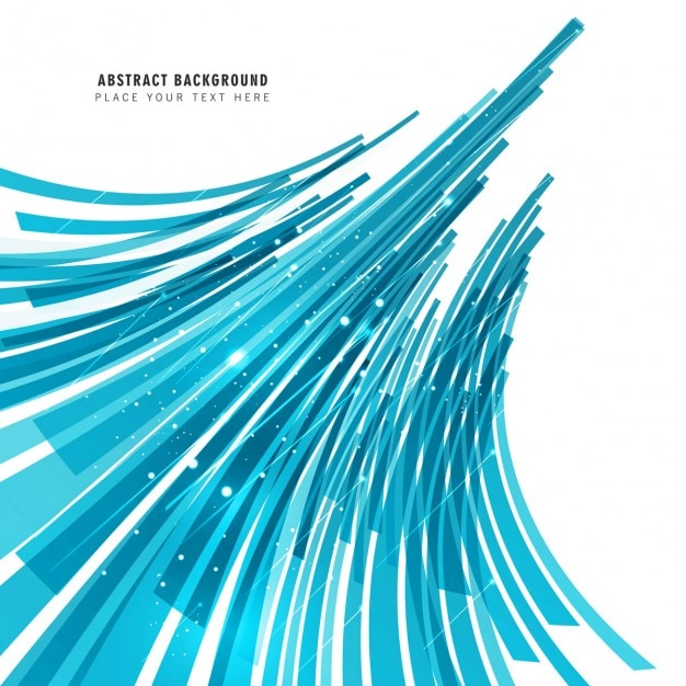 Abstract Blue Lines Background Vector Free Download