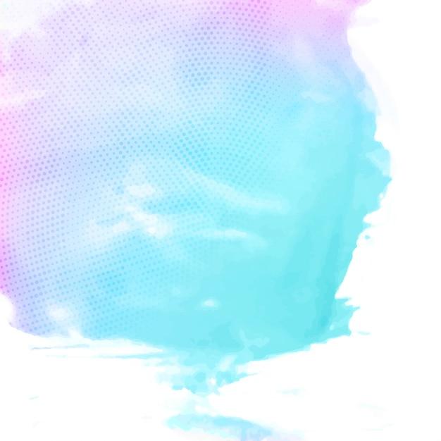 Astratto colorato sfondo acquerello Vettore gratuito
