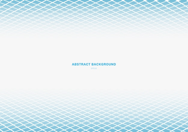 Abstract blue square background Premium Vector