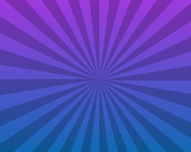 Abstract blue sunburst background design Premium Vector