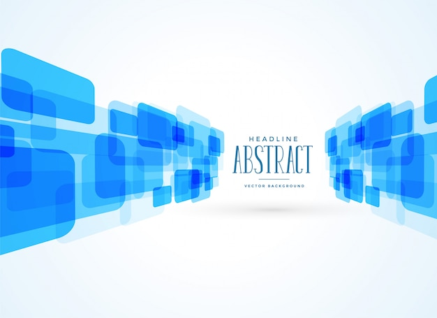 Abstract blue technology style background Free Vector