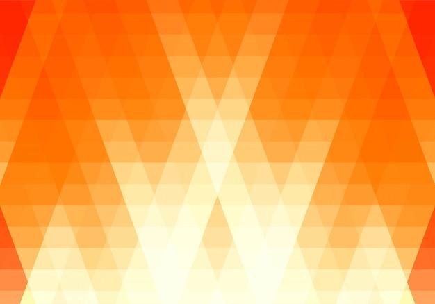 Абстрактный синий фон фигуры треугольника Бесплатные векторы