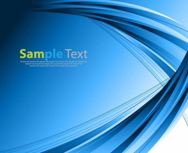 Abstract blue vector background Free Vector